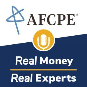 AFCPE's Real Money Real Experts podcast poster